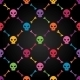 Multicolor Seamless Pattern with Skulls - GraphicRiver Item for Sale