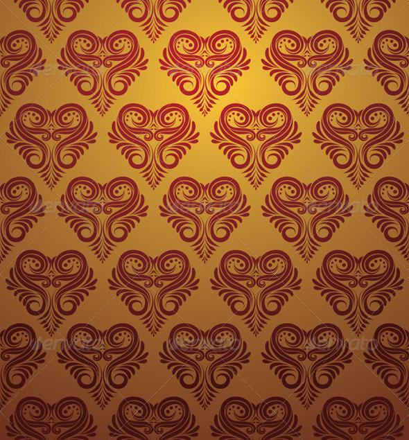 Love Ornamental Pattern - Patterns Decorative