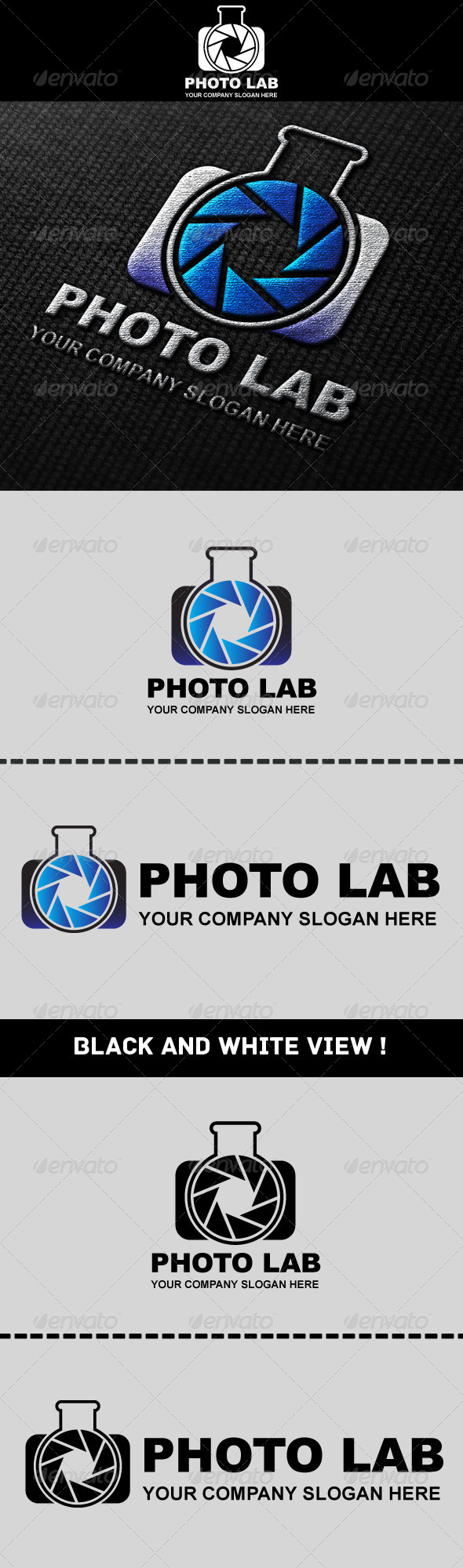 GraphicRiver Photo Laboratory Logo 4738494