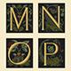 Download Vector Sixteenth-Century Alphabet