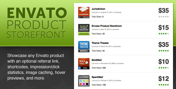 CodeCanyon Envato Product Store front 241358