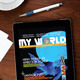 iPad Tablet Magazine Template 16 Pages - GraphicRiver Item for Sale