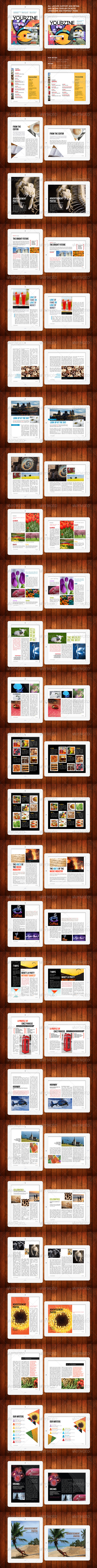 GraphicRiver iPad Tablet Magazine Template 28 Pages 4681868