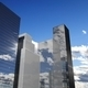 Skyscrapers with clouds reflection - PhotoDune Item for Sale