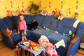 little girl playing with toys in her room - PhotoDune Item for Sale
