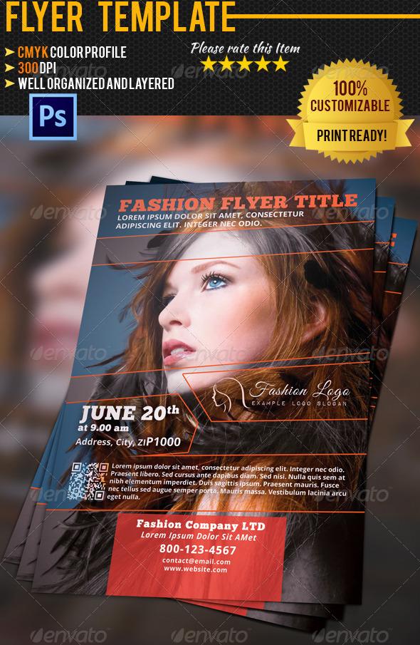 GraphicRiver Fashion Flyer 02 4739703