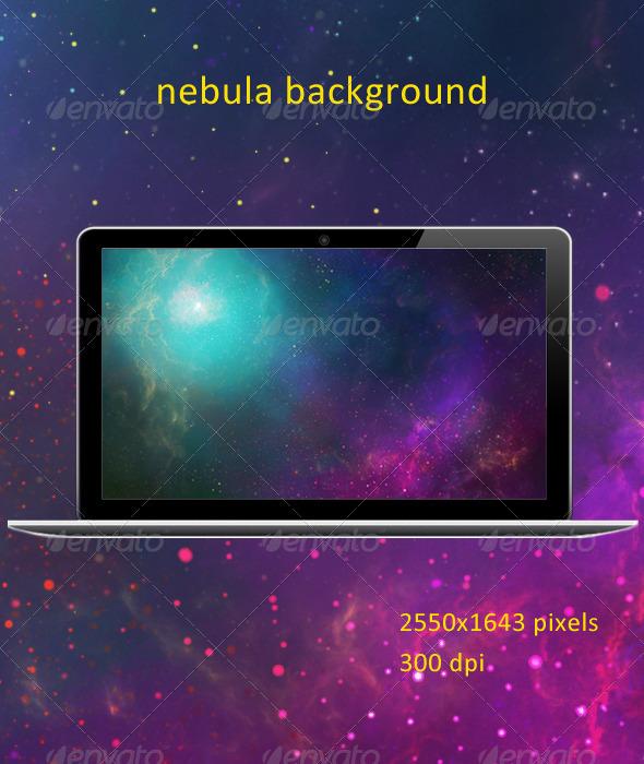 GraphicRiver Nebula Background 4739741