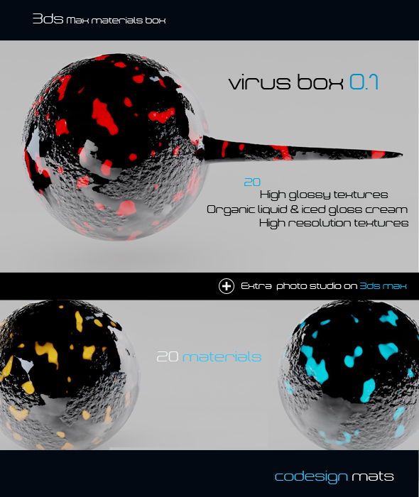 3DOcean Virus Box 0.1 494406