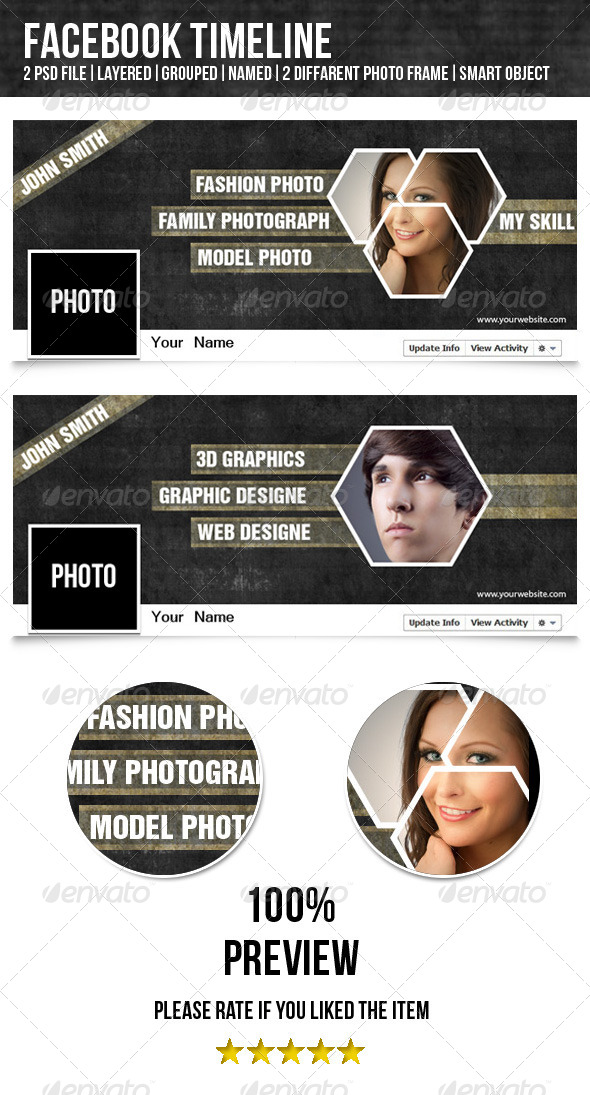 GraphicRiver Facebook Timeline-Designer&Photographer 4739786