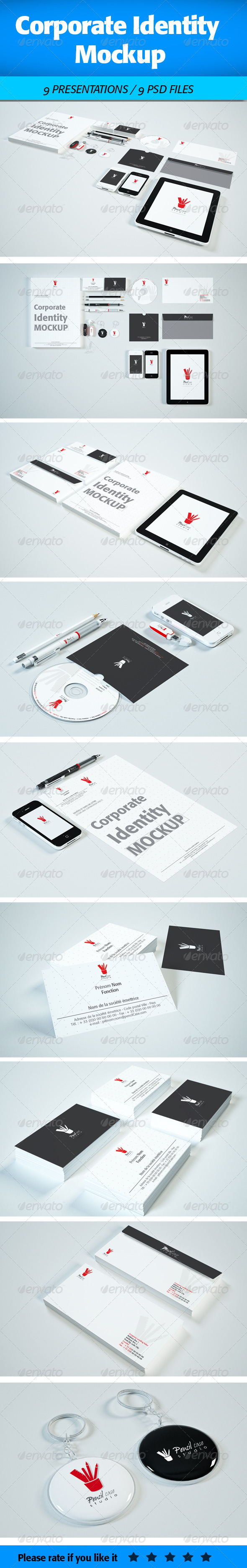 GraphicRiver Corporate Identity Mock-Up 4629425