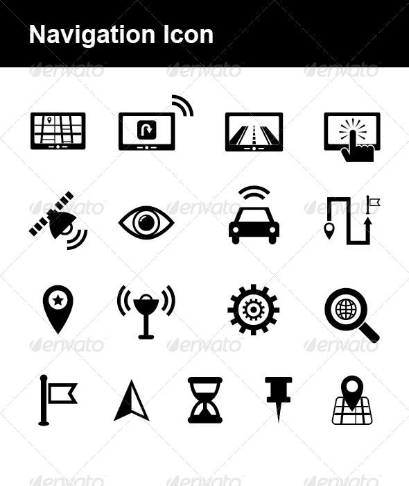 GraphicRiver Navigation Icon 4740814