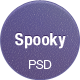 Spooky - One Page Portfolio PSD Template  - ThemeForest Item for Sale