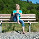 Woman on bench - PhotoDune Item for Sale