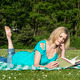 Reading a book - PhotoDune Item for Sale