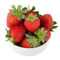 Fresh strawberries in bowl - PhotoDune Item for Sale