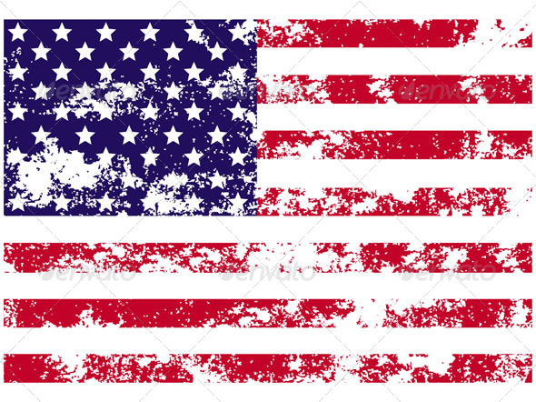 GraphicRiver Flag of USA 4741056