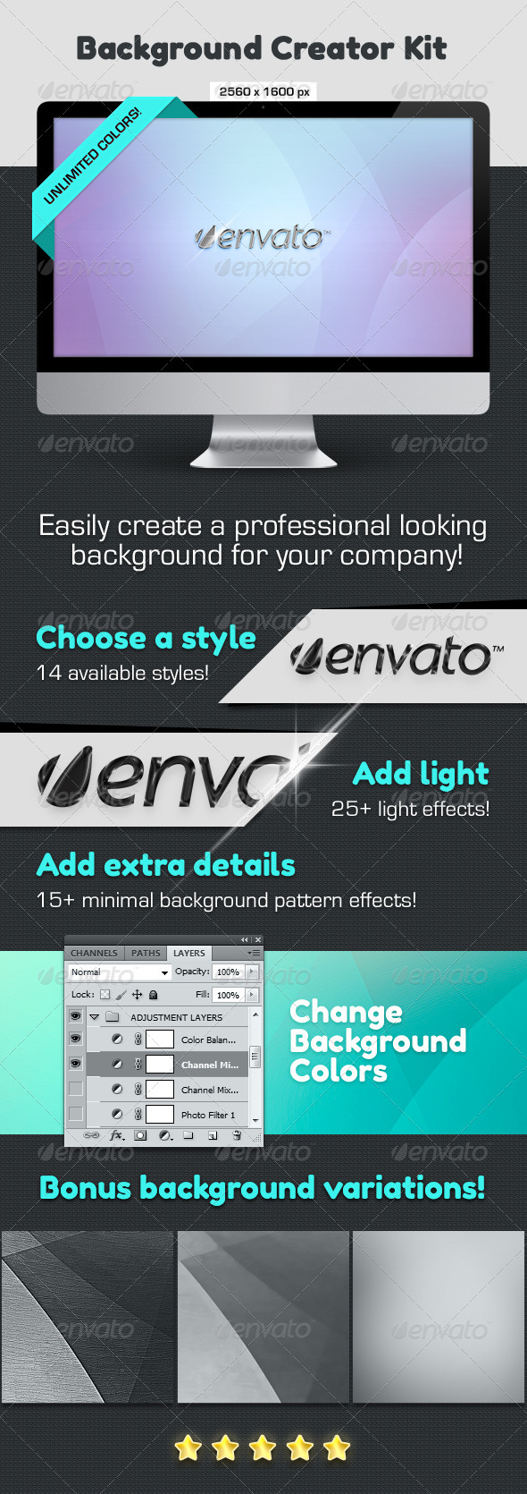 GraphicRiver Background Creator Kit 4659924