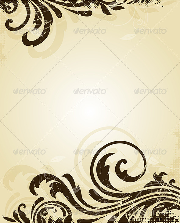 GraphicRiver Vintage Scratched Background 4741992