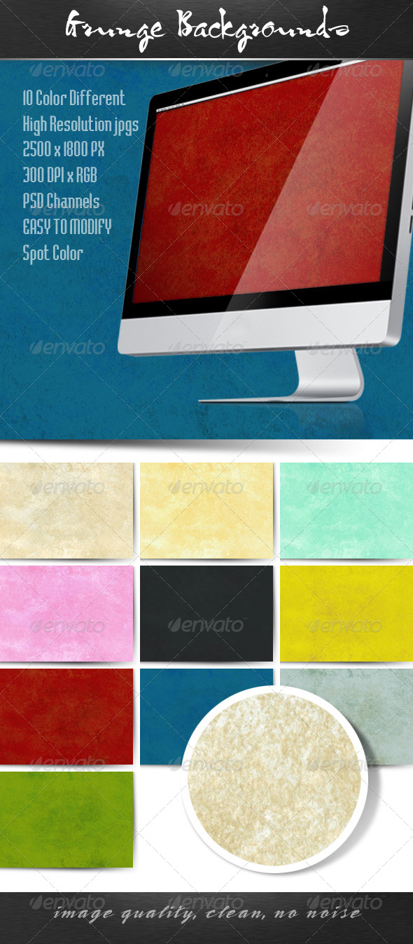 GraphicRiver Grunge Backgrounds 4742247