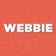 Webbie - WordPress theme for ebook authors