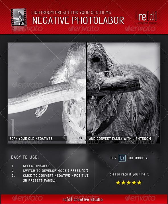 GraphicRiver Negative Photolabor for Lightroom 4 4720009