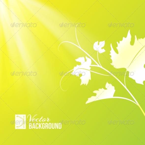 GraphicRiver Wine Leaf 4743704