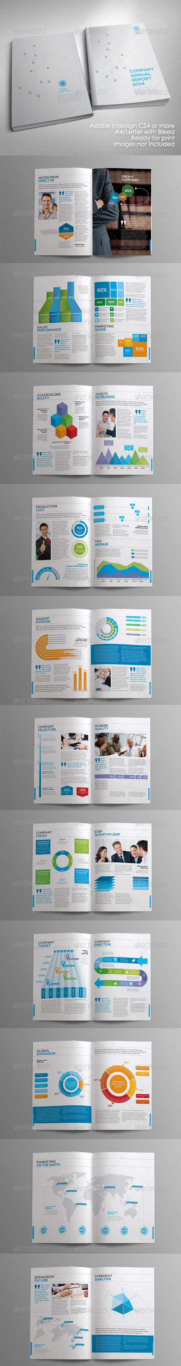 GraphicRiver Infographic Annual Report 4743785