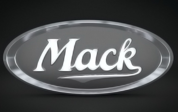 Mack Logo - 3DOcean Item for Sale
