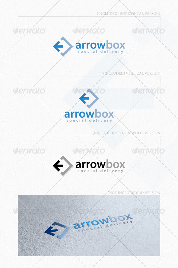 GraphicRiver Arrow Box Logo 4744077