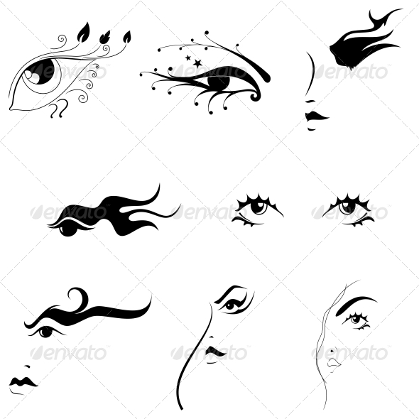 GraphicRiver Creative Eyes Artistic Designs Vector Pack 4744098