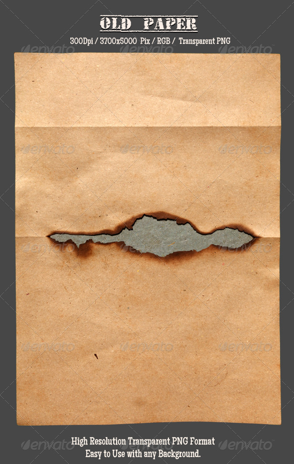 GraphicRiver Burnt Old Paper 3 4744414