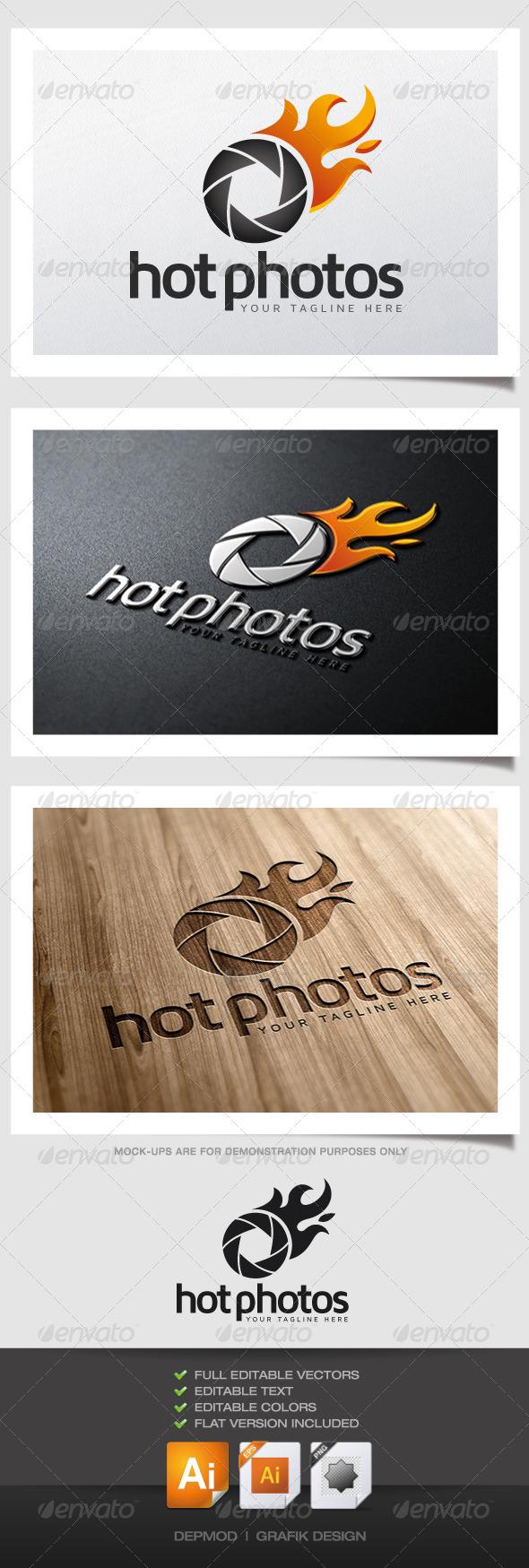 GraphicRiver Hot Photos Logo 4733349