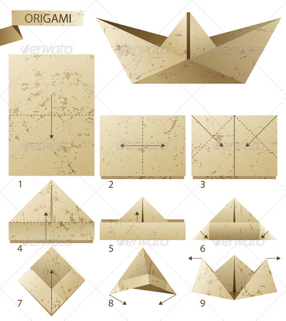 GraphicRiver Paper Boat 4744848