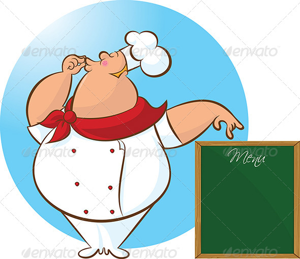 GraphicRiver Happy Chef Menu 4744855