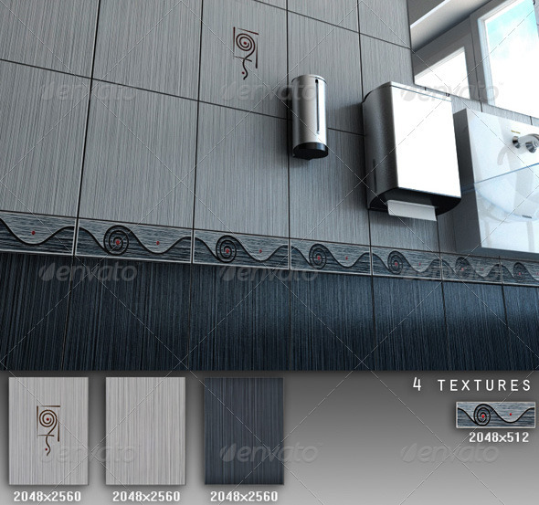 Professional Ceramic Tile Collection C031 - 3DOcean Item for Sale