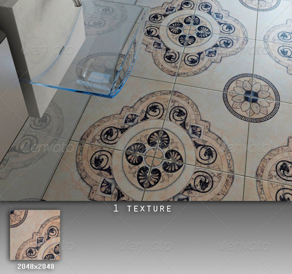 3DOcean Professional Ceramic Tile Collection C034 494853