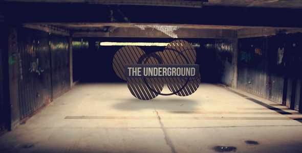 After Effects Project - VideoHive The Underground 494897