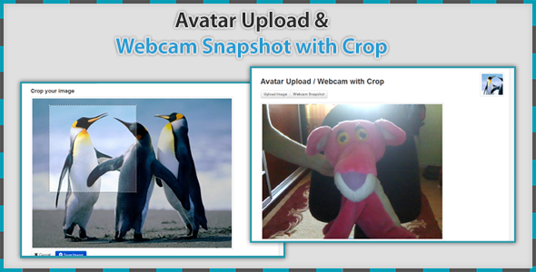 CodeCanyon Avatar Upload & Webcam with Crop 4745700