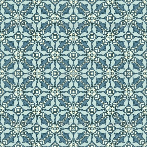GraphicRiver Seamless Colorful Retro Pattern Background 4745725