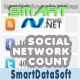 Smart Social Network Count Asp.Net Version - CodeCanyon Item for Sale
