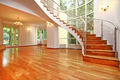 Spacious house interior with spectacular circular staircase - PhotoDune Item for Sale