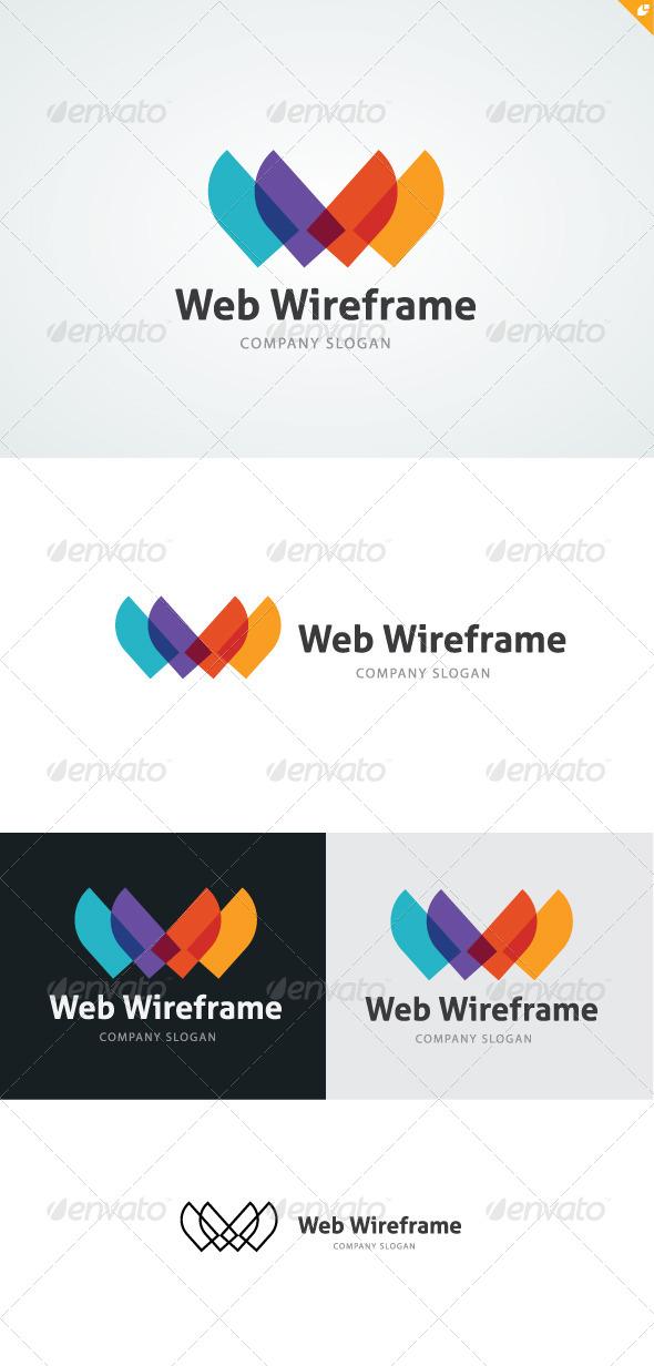 Web Wireframe Logo