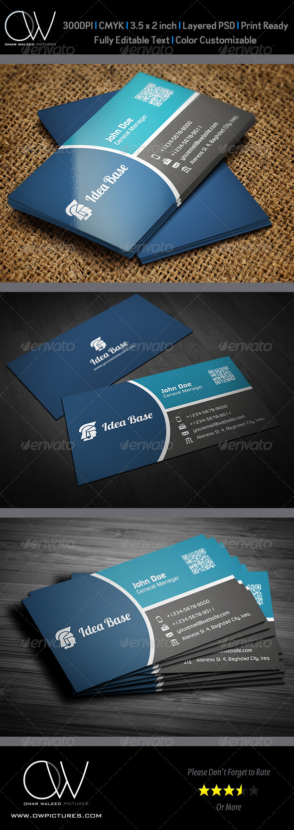 Corporate Business Card Vol.26 - Corporate Business Cards