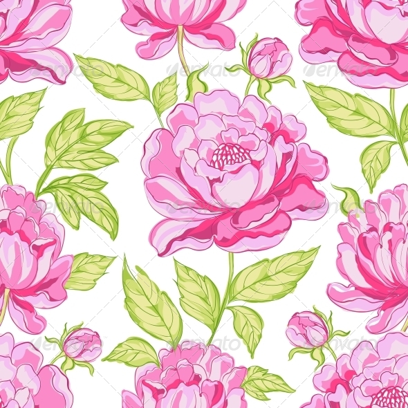 GraphicRiver Seamless Floral Pattern 4746393