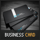Black Corporate Business Card - GraphicRiver Item for Sale