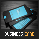 Blue Modern Business Card - GraphicRiver Item for Sale
