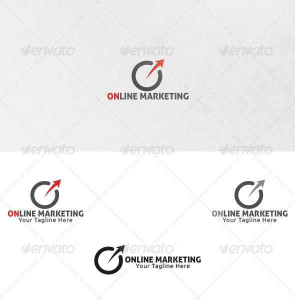 GraphicRiver Online Marketing Logo Template 4746878
