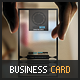 Media Work Transparent Business Card - GraphicRiver Item for Sale