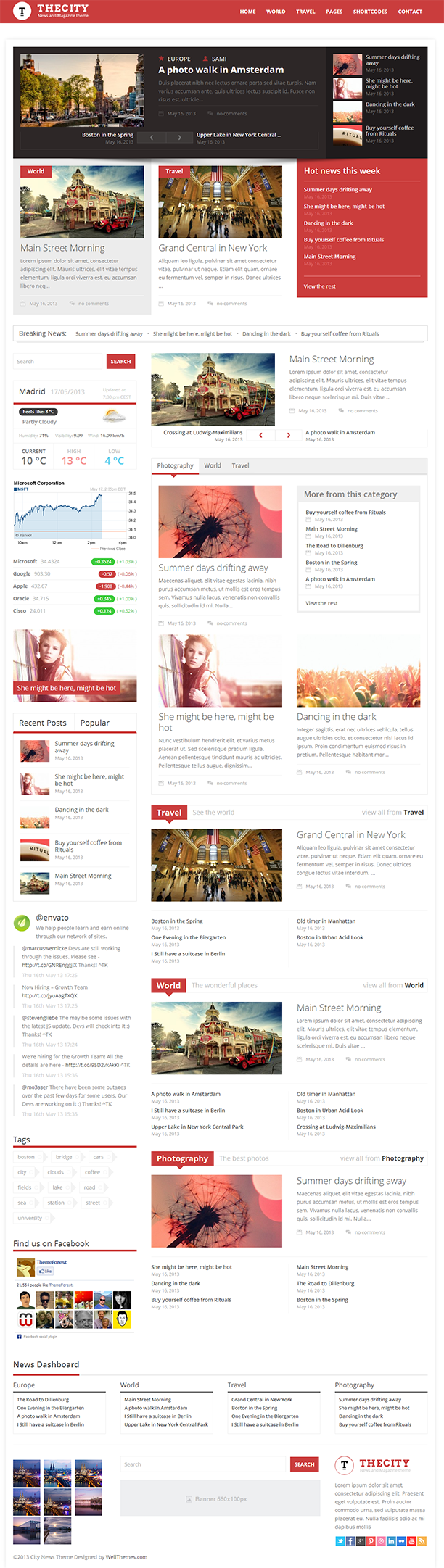 City News Responsive WordPress Theme