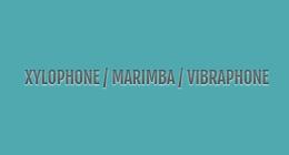 XYLOPHONE MARIMBA VIBRAPHONE